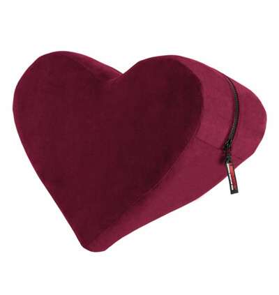 Liberator Heart Wedge Merlot -  siedzisko do seksu , Czerwone