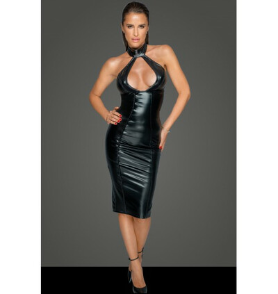 Noir Handmade F231 Dress with an amazing cleavage - Sukienka