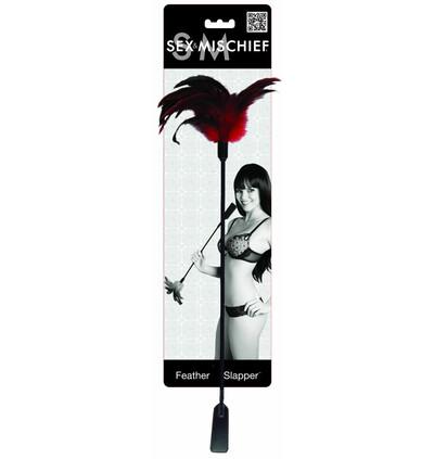 Sex&Mischief Feather Slapper - Pejczyk miotełka