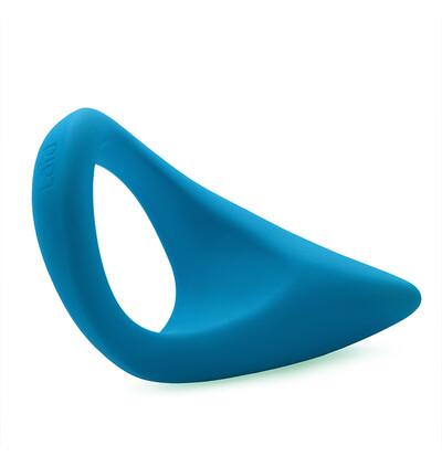 Laid - Elastyczny pierścień na penisa i jądra - P.2 - 51.5 mm, Niebieski