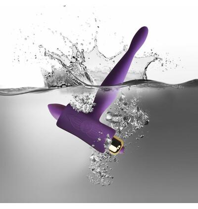 Rocks-Off Petite Sensations Teazer Purple - Wibrujący korek analny, Fioletowy