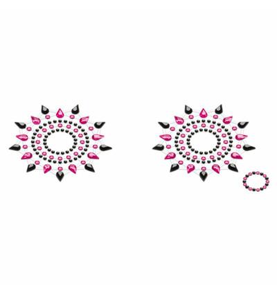 Petits Joujoux Gloria Black & Pink Czarna z Różem - Nasutniki, Różowy