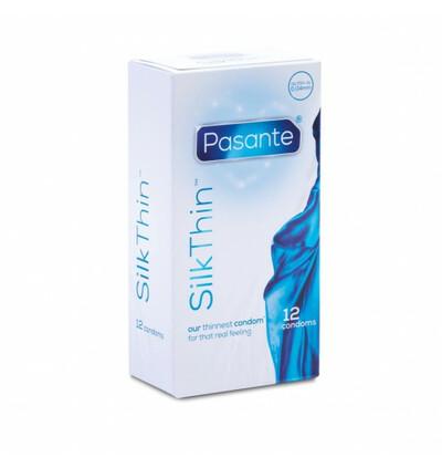 Pasante Thin Silk - prezerwatywy 12 szt