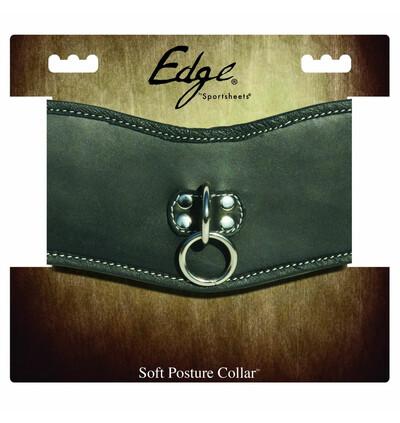 Sportsheets Edge Soft Leather Posture Collar - Obroża