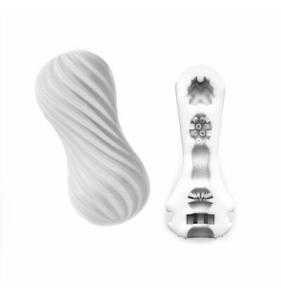 Tenga Flex Masturbation Sleeve Silky White - Nakładka do masturbacji