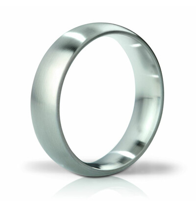 Mystim His Ringness Earl szczotkowany 55mm - metalowy pierścień erekcyjny