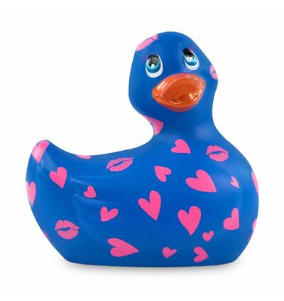 Masażer kaczuszka - I Rub My Duckie 2.0 Romance, Fioletowy i Różowy