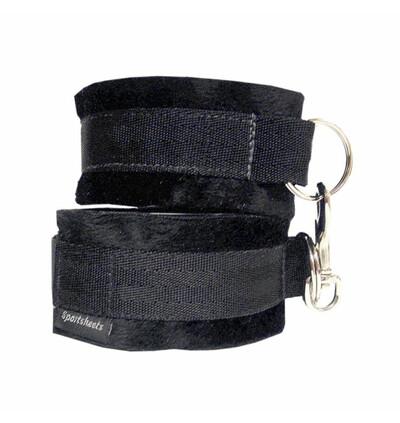 Sportsheets Soft Cuffs Black - Kajdanki