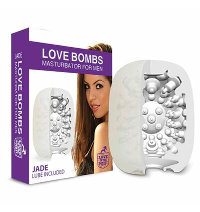Love in the PocketLove Bombs Jade - Masturbator klasyczny