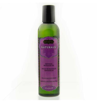 Kama Sutra Naturals Massage Oil Island Passion Berry - Naturalny olejek do masażu