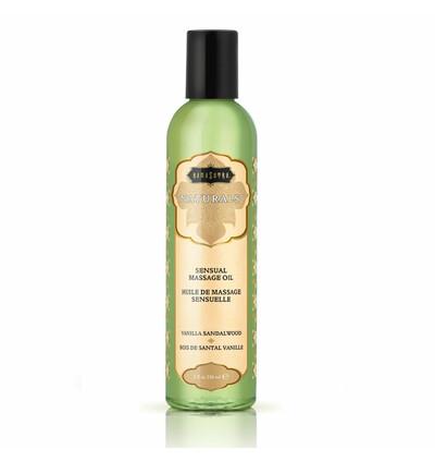 Kama Sutra Naturals Massage Oil Vanilla Sandalwood - Naturalny olejek do masażu