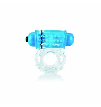 The Screaming O Color Pop Owow Blue - Wibrujący pierścień erekcyjny, Niebieski