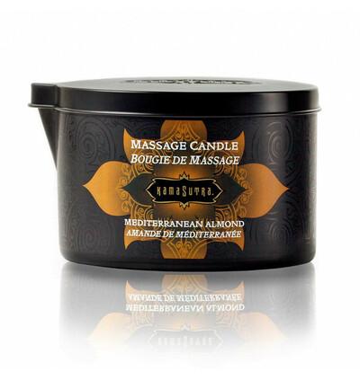 Kama Sutra Massage Candle Mediterranean Almond - świeca do masażu, Migdałowa