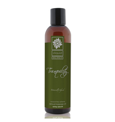 Sliquid Balance Massage Tranquility 255 ml - Olejek do masażu