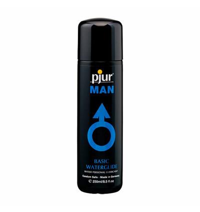 Pjur Man Basic Water Glide 250 ml - Lubrykant analny na bazie wody