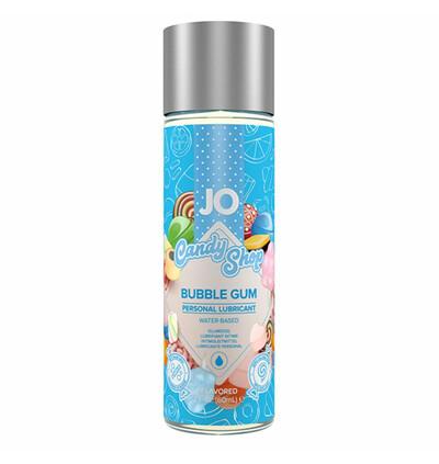 System JO Candy Shop H2O Bubblegum Lubricant 60 ml - lubrykant na bazie wody o smaku gumy balonowej