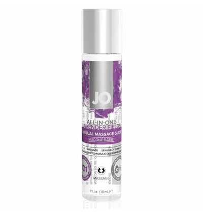 System JO Massage Glide Lavender 30 ml  - Lawendowy Olejek do masażu
