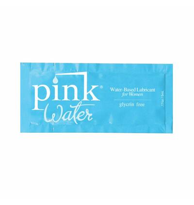 Pink Water Water Based Lubricant 5 ml - Lubrykany na bazie wody