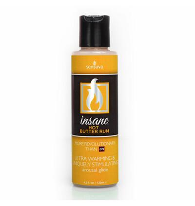 Sensuva Insane Arousal Glide Hot Butter Rum 125 ml - lubrykant