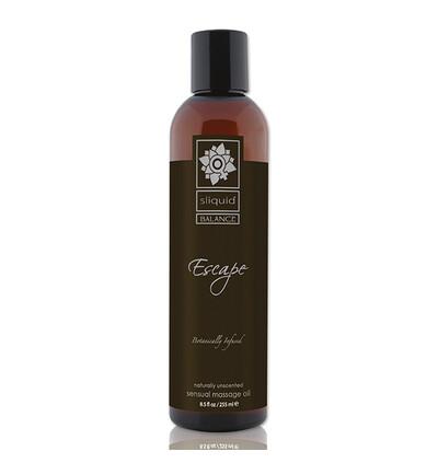 Sliquid Balance Massage Escape 255 ml - Olejek do masażu