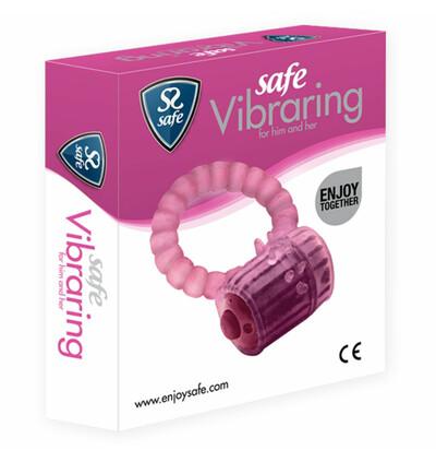 Safe Vibraring Cockring - wibrujący Pierścień erekcyjny