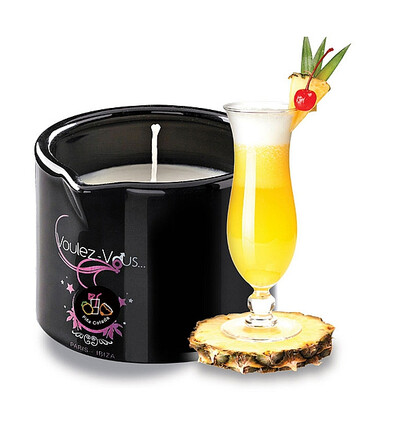 Voulez-Vous... Massage Candle Pina Colada - świeca do masażu Pina Colada