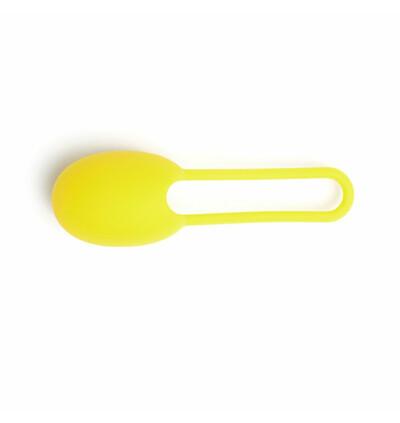 Tickler Vibes Trainer Toyfriend Single Yellow - Kulki gejszy, żółty