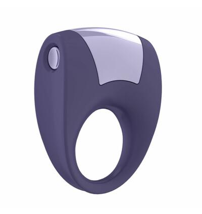 OvoB8 Vibrating Ring Lilac - Wibrujący pierścień erekcyjny