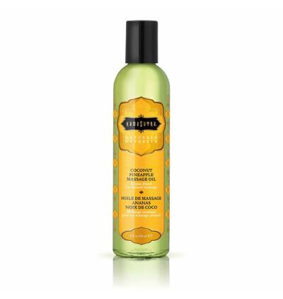 Kama Sutra Naturals Massage Oil Coconut - Naturalny olejek do masażu, Kokosowy