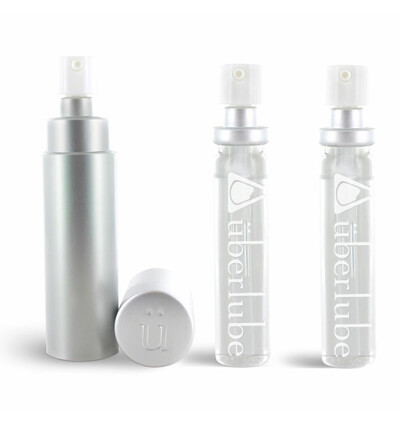 Uberlube Silicone Lubricant Good To Go Silver & Refills - lubrykant na bazie silikonu