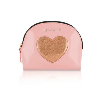 Rianne S Kit dAmour Pink/Gold - Wibrujący pierścień erekcyjny, Różowy ze Złotym