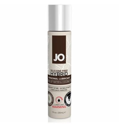 System JO Hybrid Lubricant Coconut Warming 30 ml Kokosowy Rozgrzewający - środek nawilżający hybrydowy