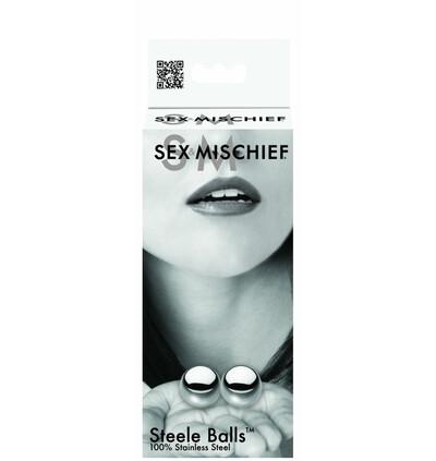 Sex&Mischief Steele Balls - Kulki waginalne ze stali wysokiej jakości