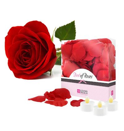 LoversPremium Bed of Roses Red - Płatki róż