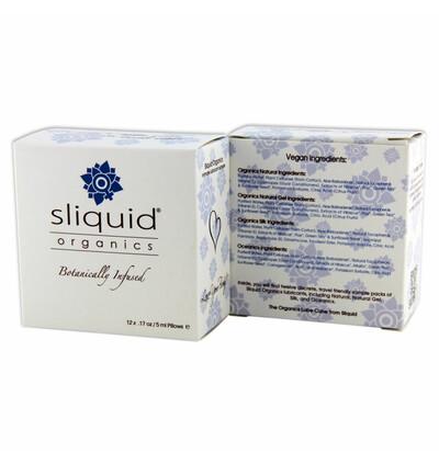 Sliquid Organics Lube Cube 60 ml - Zestaw lubrykantów w saszetkach