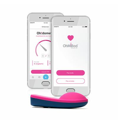 OhMiBod blueMotion App Controlled Nex 1 (2nd Generation) - Wibrator łechtaczkowy sterowany aplikacją